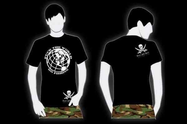BLB F**k The World, Go Fishing! Shirt